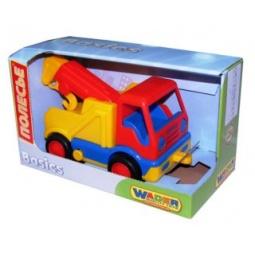 фото Машинка игрушечная Полесье «Базик эвакуатор». В ассортименте