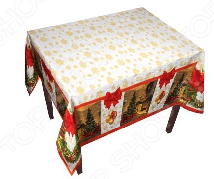 Скатерть «Рождество у камина»