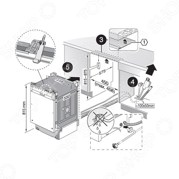 Установка своими руками посудомоечная машина