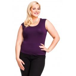 фото Майка Mondigo XL 326. Цвет: темно-фиолетовый. Размер одежды: 48