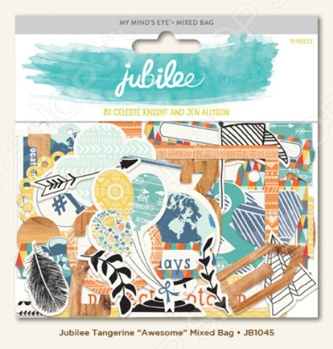 ������� �� �������� My Mind's Eye Jubilee Awesome JB1045