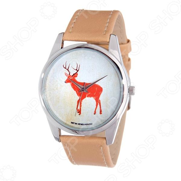Часы наручные Mitya Veselkov «Лесной олень» украшение kaemingk лесной олень black silver 515727