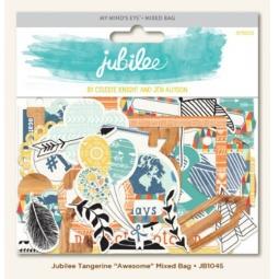 Купить Вырубки из чипборда My Mind's Eye Jubilee Awesome JB1045