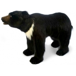 фото Мягкая игрушка для ребенка Hansa «Медведь стоящий на 4 лапах»