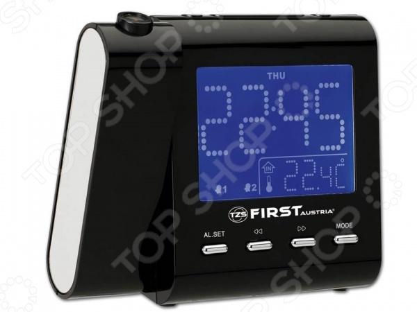 Радиочасы с проектором First 2421-1 радиочасы с проектором first 2421 5