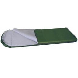 фото Спальный мешок ALASKA «Одеяло с подголовником +5 С». Цвет: зеленый