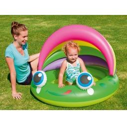 Купить Бассейн надувной с навесом Bestway 52188 «Лягушка»