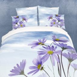 фото Комплект постельного белья Domomania Chicory. Satin Fotoprint. Евро