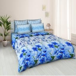 фото Комплект постельного белья Jardin «Цветочная аллея 1». Евро