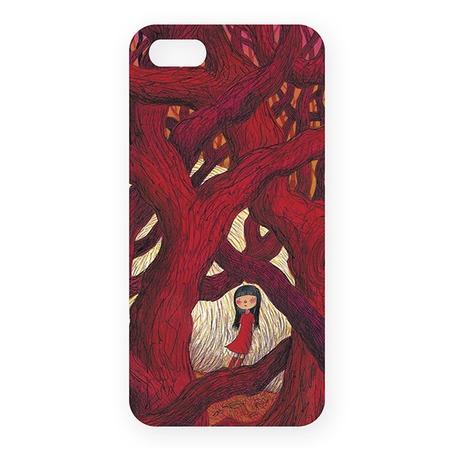 Купить Чехол для iPhone 5 Mitya Veselkov «В красном кустарнике»
