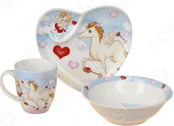 Набор посуды для детей Rosenberg 8776