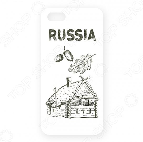 Чехол для iPhone 5 Mitya Veselkov «Русская изба» чехол для iphone 5 mitya veselkov газировка