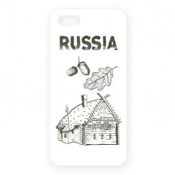 фото Чехол для iPhone 5 Mitya Veselkov «Русская изба»