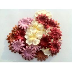 фото Набор цветов из шелковичной бумаги ScrapBerry's SCB 90305