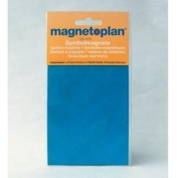фото Набор магнитов символьных круглых Magnetoplan. Цвет: желтый