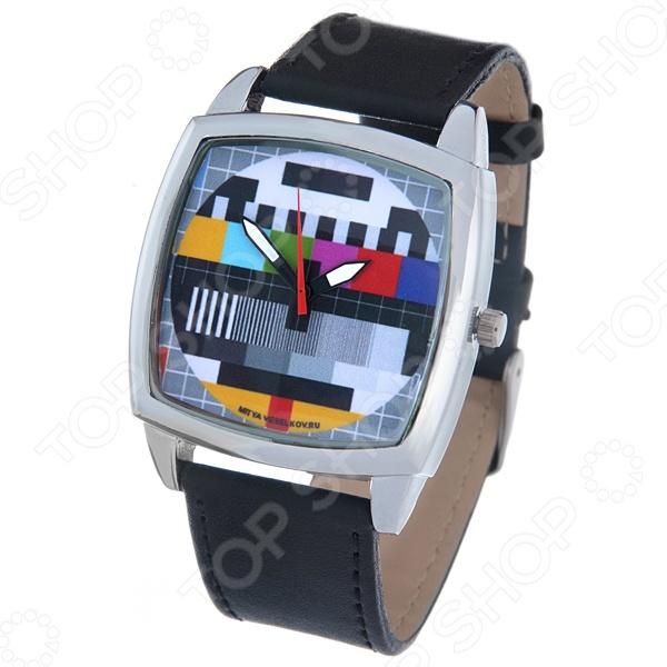 Часы наручные Mitya Veselkov «ТВ-сетка» CH
