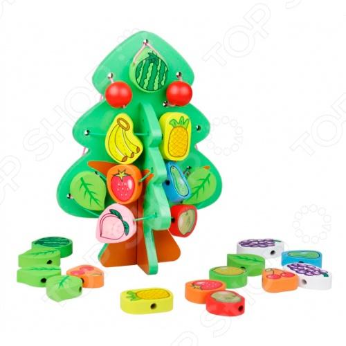 фото Игрушка деревянная Винтик и Шпунтик «Сказочное дерево», Деревянные игрушки для малышей