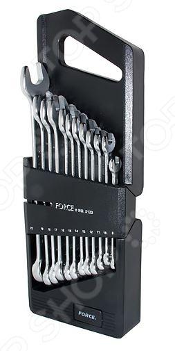 Набор ключей комбинированных Force F-5123  force 5121 набор комбинированных ключей 8 23 мм