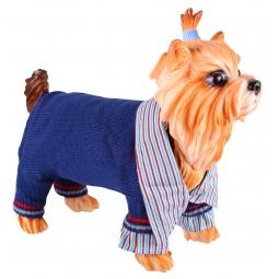 Купить Свитер для собак DEZZIE «Остин». Цвет: синий