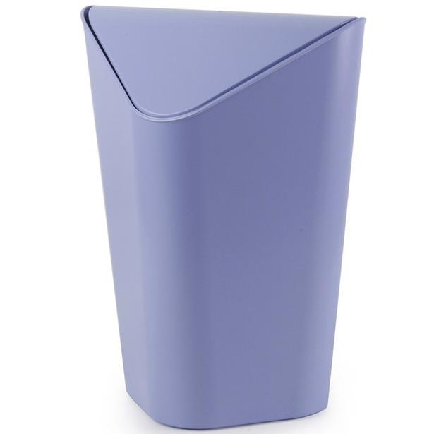фото Корзина для мусора Umbra Corner. Цвет: лавандовый. Объем: 10 л