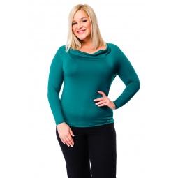 фото Кофта Mondigo XL 1464. Цвет: темно-зеленый. Размер одежды: 50