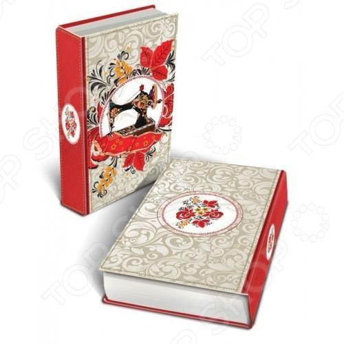 Книга-шкатулка Феникс-Презент «Швейная машинка»