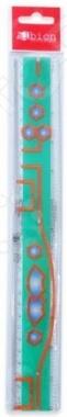 Товар продается в ассортименте. Цвет изделия при комплектации заказа зависит от наличия товарного ассортимента на складе. Линейка Albion BTS Rainbow длиной 30 сантиметров предназначена для проведения различных видов чертежных работ. Четкая шкала делений позволит точно отмерить нужное расстояние. Линейка пригодится как школьникам, так и офисным работникам.
