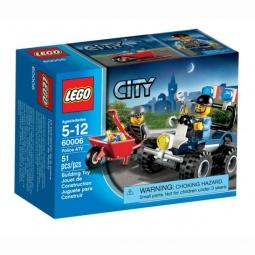 фото Конструктор LEGO Полицейский квадроцикл
