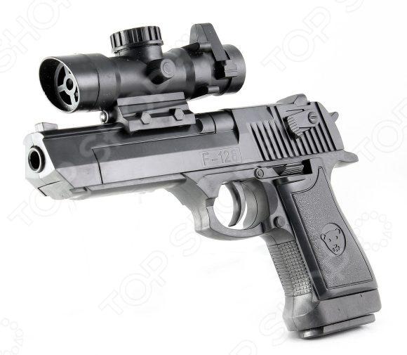 Пистолет игрушечный Shantou Gepai ES882-F128A игрушечное оружие edison игрушечный пистолет стерлинг золотой 17 5 см