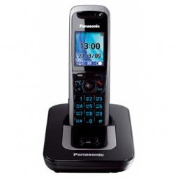 фото Радиотелефон Panasonic KX-TG8411. Цвет: титановый