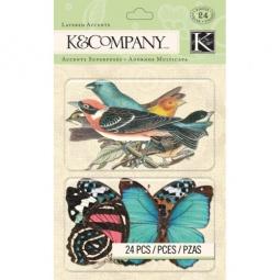 Купить Стикер-украшение K&Company «Веселая погода»