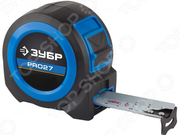 Рулетка Зубр «Профи» 34059-10-27 рулетка rexant профи