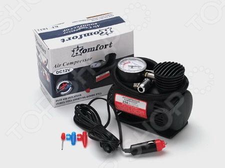 Мини-компрессор Komfort KF-1032 компрессор для шин 12v 14