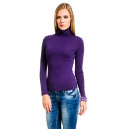 фото Водолазка Mondigo 046. Цвет: темно-фиолетовый. Размер одежды: 42