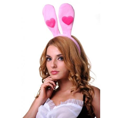 Купить Ушки зайчика Accessories с сердечком 02872