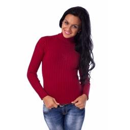 фото Свитер Mondigo 9035. Цвет: бордовый. Размер одежды: 44