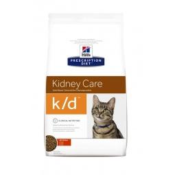 фото Корм сухой диетический для кошек Hill's K/D Prescription Diet Feline Kidney Care. Вес упаковки: 1,5 кг