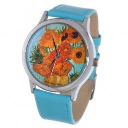 Купить Часы наручные Mitya Veselkov «Подсолнухи Ван Гога» Color