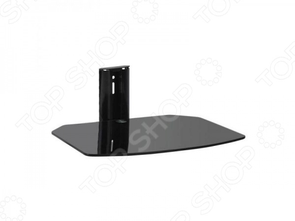 Кронштейн для DVD Kromax R-MONOКронштейны для акустики<br>Кронштейн для DVD Kromax R-MONO предназначен для DVD и AV систем. С помощью такого кронштейна вы сможете удобно расположить DVD, экономя при этом драгоценное пространство в квартире. Полка выполнена из закаленного стекла толщиной 8 мм. Преимущества кронштейна:  плоский профиль позволяет вписаться в современный дизайн интерьеров;  обеспечивает оптимальное позиционирование DVD.<br>