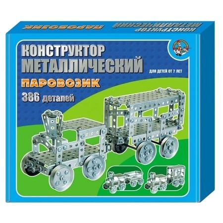 Купить Конструктор металлический Десятое королевство «Паровозик»