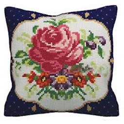 Купить Набор для вышивания подушки Collection D'art 5140