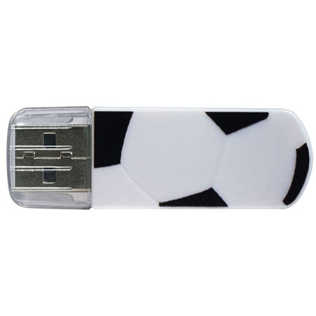 Купить Флешка Verbatim Mini USB Drive Graffiti Edition Football 16Gb