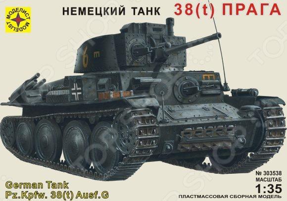 Сборная модель танка Моделист «Прага»