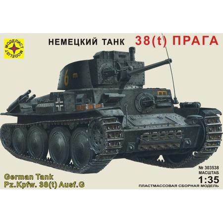 Купить Сборная модель танка Моделист «38 (t) Прага»