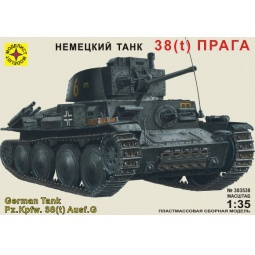 фото Сборная модель танка Моделист «38 (t) Прага»