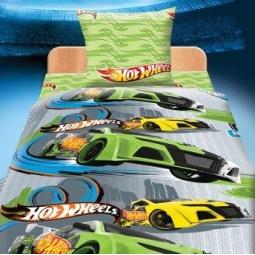 Купить Комплект постельного белья Hot Wheels «Гонки». Детский