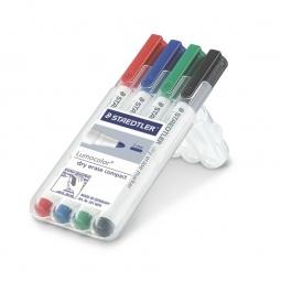 Набор маркеров для досок Staedtler 341WP4
