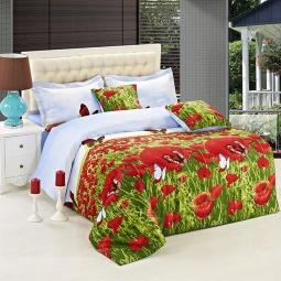 фото Комплект постельного белья Buenas Noches Maki. Satin Fotoprint. 2-спальный