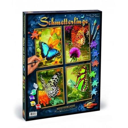 Купить Набор для рисования по номерам Schipper «Бабочки»