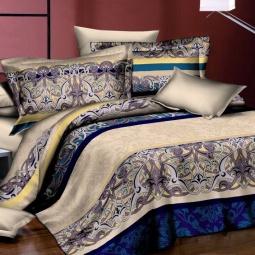 фото Комплект постельного белья Amore Mio Vitraj. Poplin. 1,5-спальный